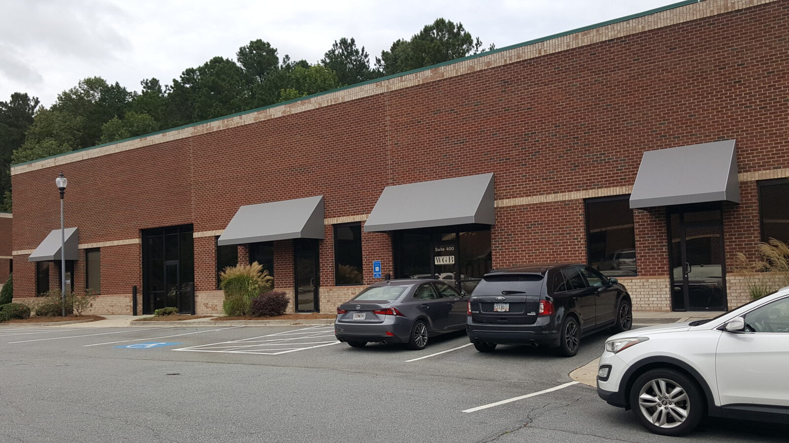 Atlanta Georgia Office Complex Custom Awning