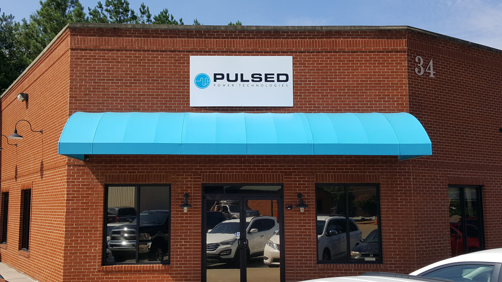 Cartersville, Georgia Custom Awning, Pulsed Power Technologies
