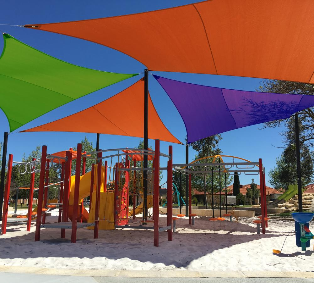 Custom Playground Shade Sail