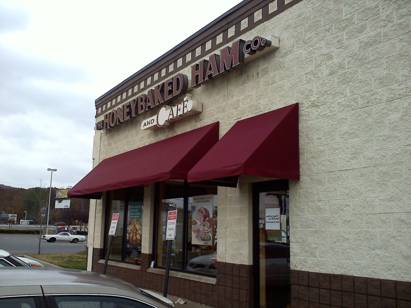 Custom Awning Honeybaked Ham Cartersville Georgia