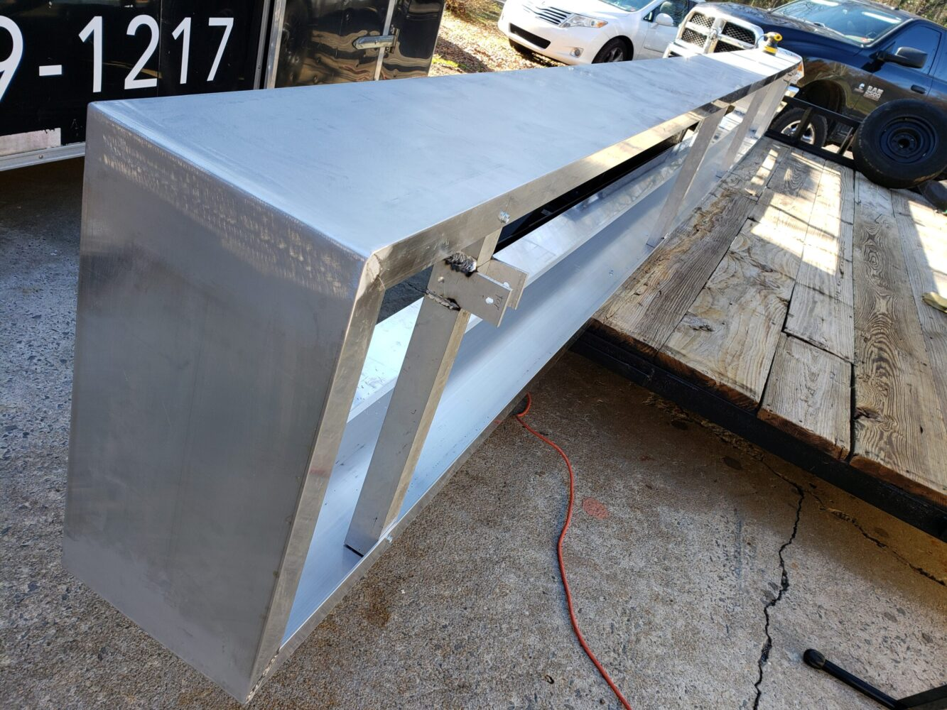 Custom Architectural Canopy Fabrication