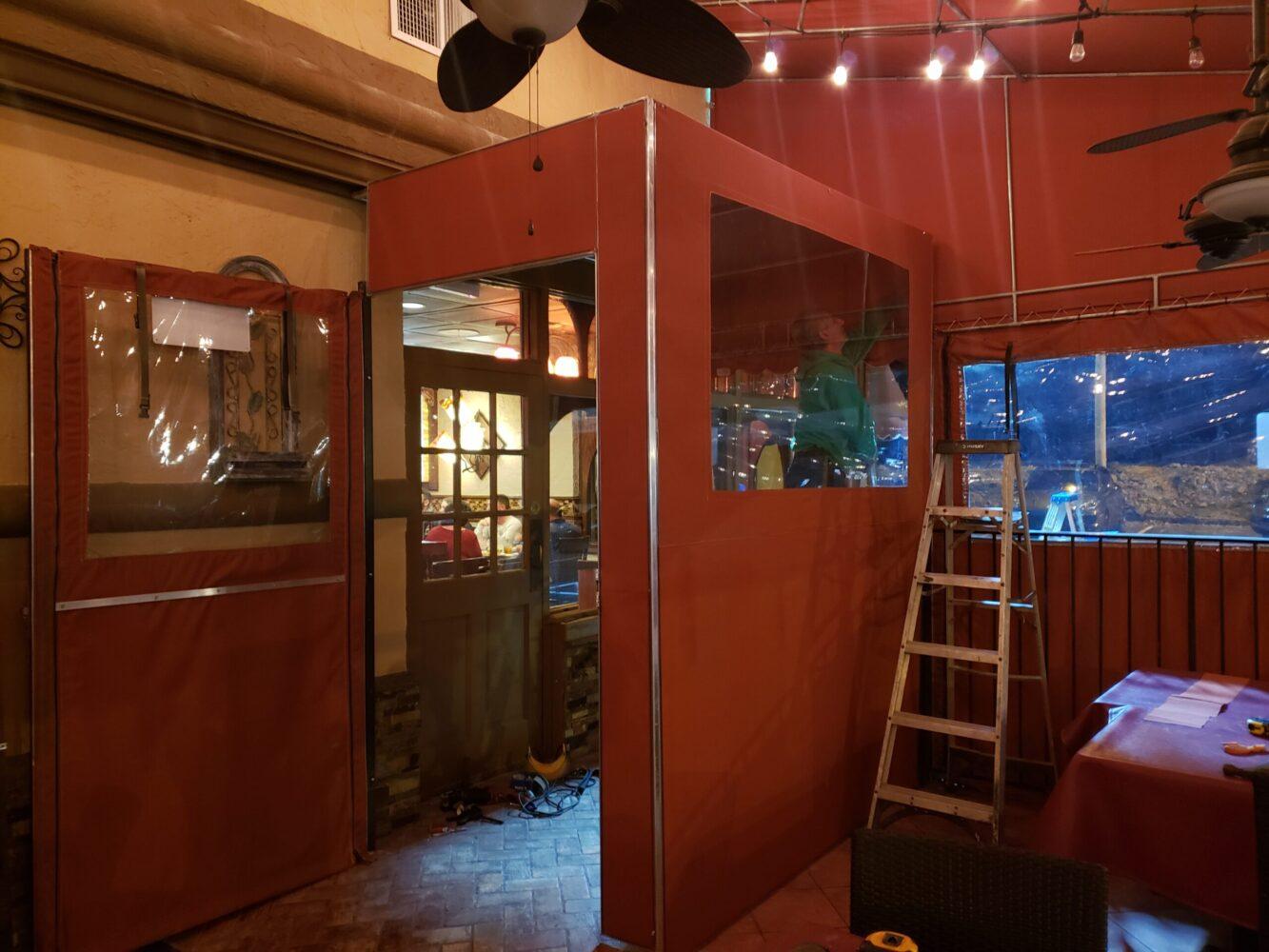 Pasta Bella Restaurant | Sunbrella Canvas Awning