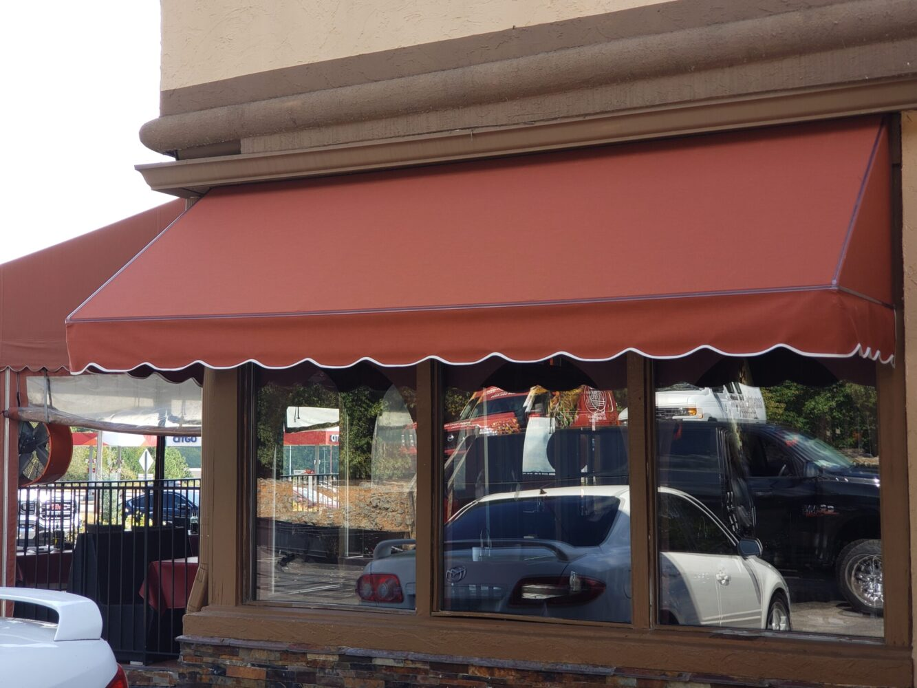 Sunbrella Canvas Awning