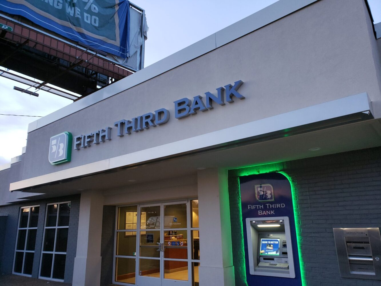 Architectural Canopy | Fifth Third Bank