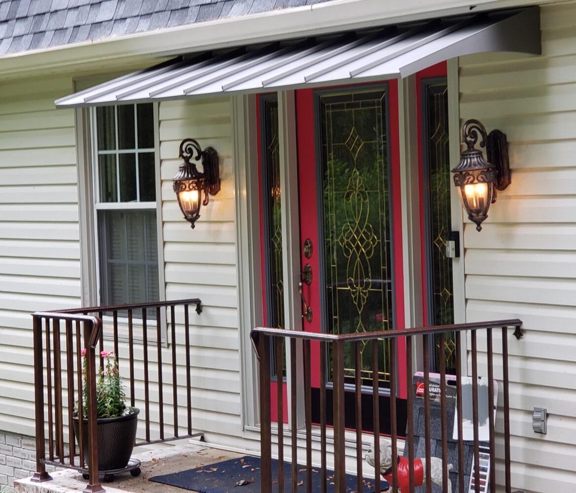 Residential Standing Metal Seam Awning