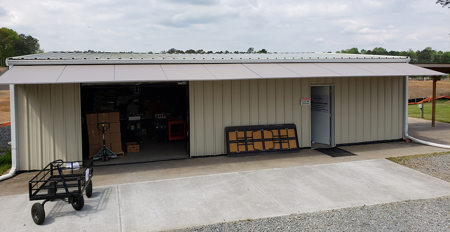 Patio 500 Awning | Commercial Warehouse